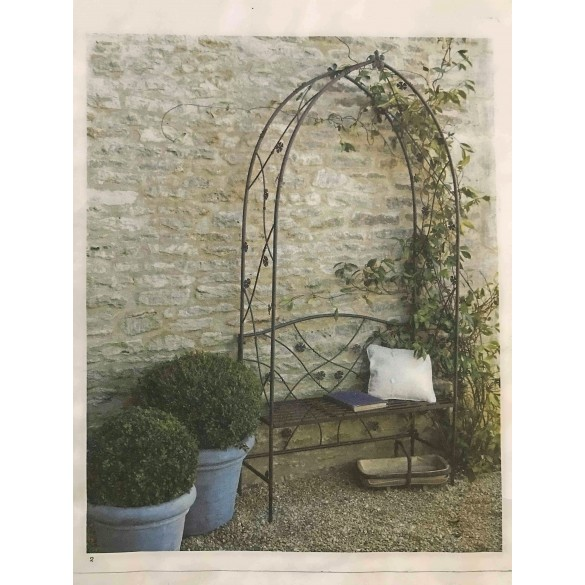 Flower Arch And Seat