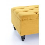 Chesterfield Footstool- With Storage