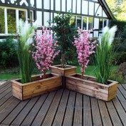 Premier Collection Corner Planter Set