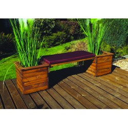 Premier Collection Deluxe Planter Bench