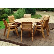 Premier Collection Round Table Set seat 6