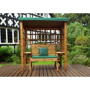 Wentworth Two Seat Arbour Green
