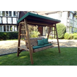 Dorset Three Seat Swing Green