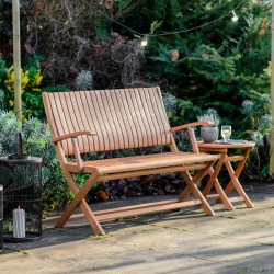 Kos Outdoor Folding Bench