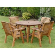 Harrogate Round Table and 4 Chairs