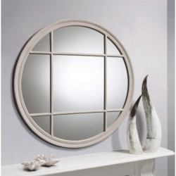 Eccleston Round Mirror Clay