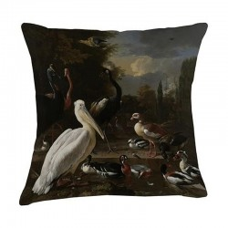 Museum Cushion - Pelican