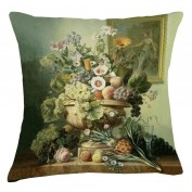 Museum Cushion - Fruits and Window