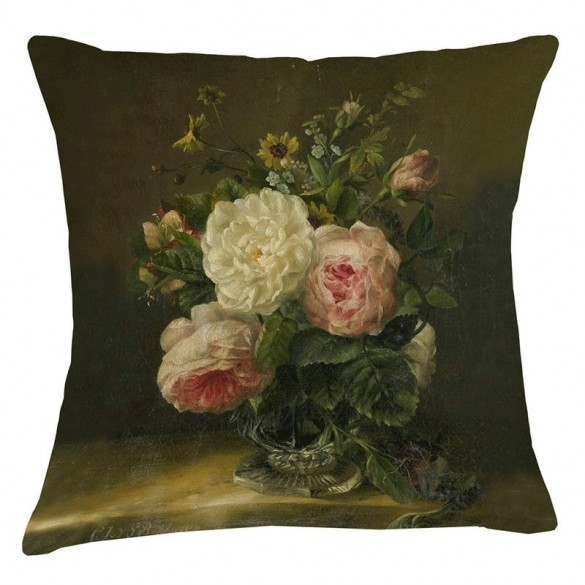 Museum Cushion - Rose