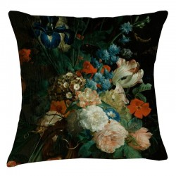 Museum Cushion - Rose Mixed Floral