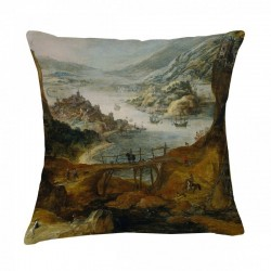 Museum Cushion - Harbour