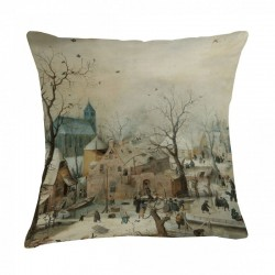 Museum Cushion - Winter