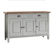 Bronte 3 Door/2 Drawer Sideboard Taupe