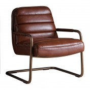 Soho Lounge Chair Matt Saddle