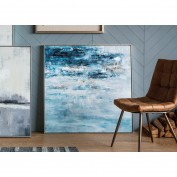 Pacific Sea Storm Framed Art