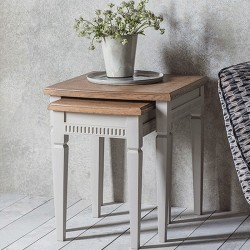 Bronte Nest of 2 Tables Taupe