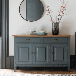 Bronte 3 Door/2 Drawer Sideboard Storm