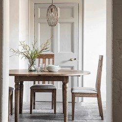 Cookham Round Ext Dining Table Oak