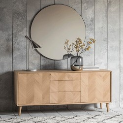 Milano 2Dr/3Drwr Sideboard