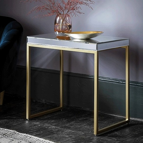 Pippard Side Table Champagne