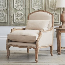 Chantelle French Armchair Putty Alison At Home