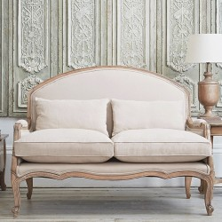 Estelle French Small Sofa Putty Alison At Home