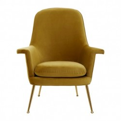 Harli Chair - Chenille Green