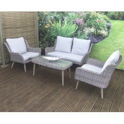 Danielle 4-Seater Sofa Set And Coffee Table