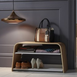 Ashwood Shoe Bench