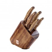 Arthur Price 5 Piece Knife Block with Rosewood Handles