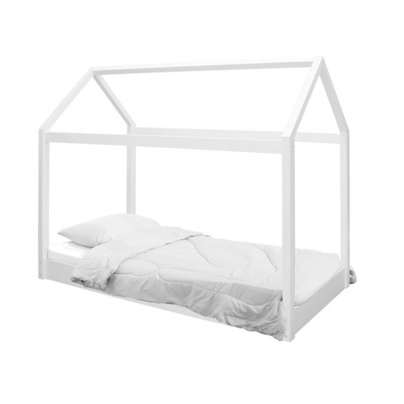 Hickory House Bed Black