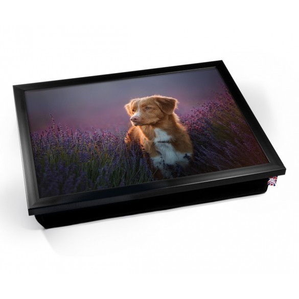 Dog Lap Tray (Black)