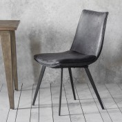Hinks Chair Grey (2pk)