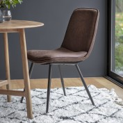 Newton Chair Brown (2pk)