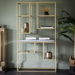 Pippard Open Display Unit Champagne
