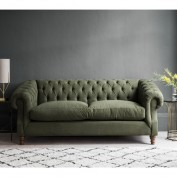 Chiswick Sofa Bed 140cm Pocket Matt Alternative Leg Longbridge Sand