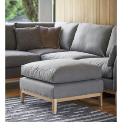 Norwood Footstool Shearwater Lght Grey