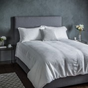 Waffle White Quilt Cover Set Double