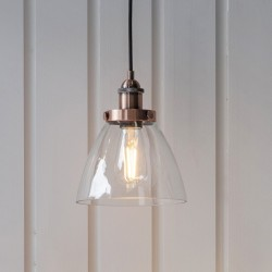 Hansen Pendant Light Aged Copper
