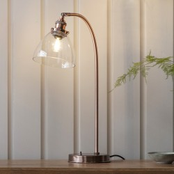 Hansen Table Lamp Aged Copper