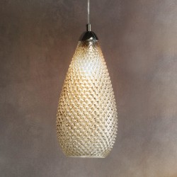 Livia Pendant Light Silver Mercury