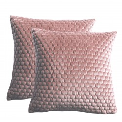 Honeycomb Cushion Blush 450x450mm (2pk)