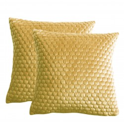 Honeycomb Cushion Ochre 580x580mm