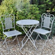 Hampton Metal Bistro Set