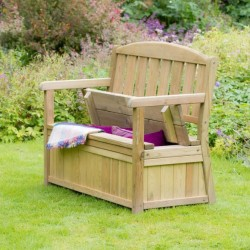 Catherine Garden Bench With Storage Box