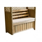 Wiltshire Arbour and Seat Pad Package