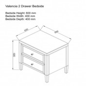 Valencia Bedside Drawer