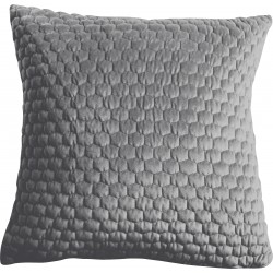 Honeycomb Cushion Silver