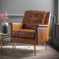 Manero Leather Chair