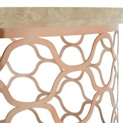 Ophelia Coffee Table (Rose Gold)